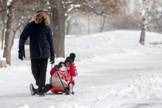 Мимо Болгарии снегопады также не прошли