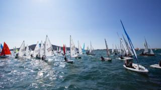 Bart's Bash at Weymouth and Portland National Sailing Academy