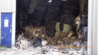 baled waste