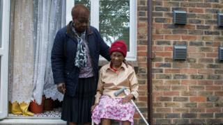 Maisie McIntosh (left) with her mother Alexteen Roberts, 101