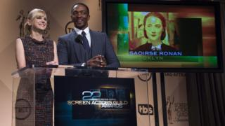 Anna Faris and Anthony Mackie