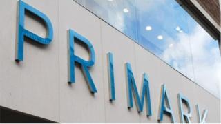 Primark sign