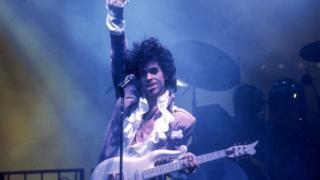 Prince performing in LA