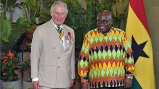 Prince of Wales for Ghana