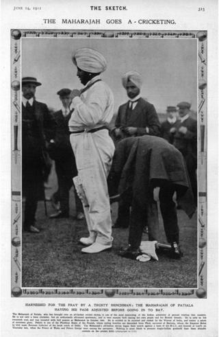 మొదటి భారత క్రికెట్ జట్టు కెప్టెన్ భూపీందర్ సింగ్