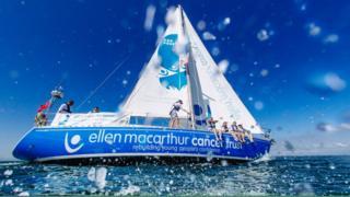 Ellen MacArthur Cancer Trust vessel