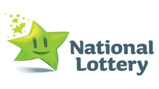 The Irish lottery website was knocked offline for about two hours.