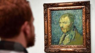 in_pictures Van Gogh self-portrait