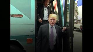 Donald Trump pictured in 2005 video