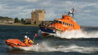 Broughty Ferry lifeboats