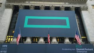 HPE at New York Stock Exchange