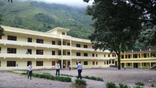 सुदूरपश्चिमको दार्चुला खलंङ्गाको एक विद्यालय