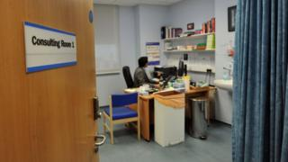 Generic image of doctor's consulting room