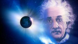 Einstein y eclipse