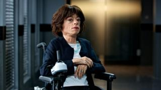 Liz Carr in Silent Witness