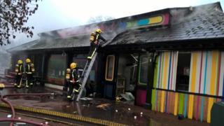 Вогонь спалахнув близько 6 ранку суботи за місцевим часом