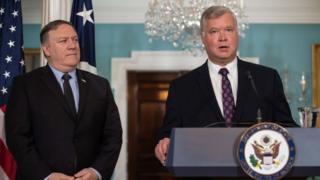 미국의 마이크 폼페이오 국무장관은 현지시간 23일 스티븐 비건 미국 포드자동차 부회장을 대북정책 특별대표에 지명했다