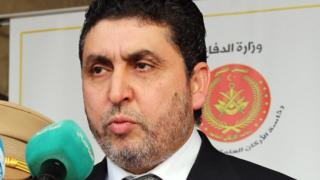 Khalifa Ghweil, head of the Tripoli-based Libyan administration - August 2015