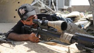 Sniper in the Iraqi army