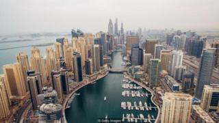 Thành phố Dubai của UAE nổi tiếng là nơi ở của các chuyên gia nước ngoài được trả lương cao