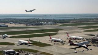 Heathrow Airport in 2007