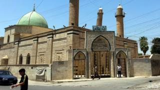 Great Mosque of al-Nuri, July 2014