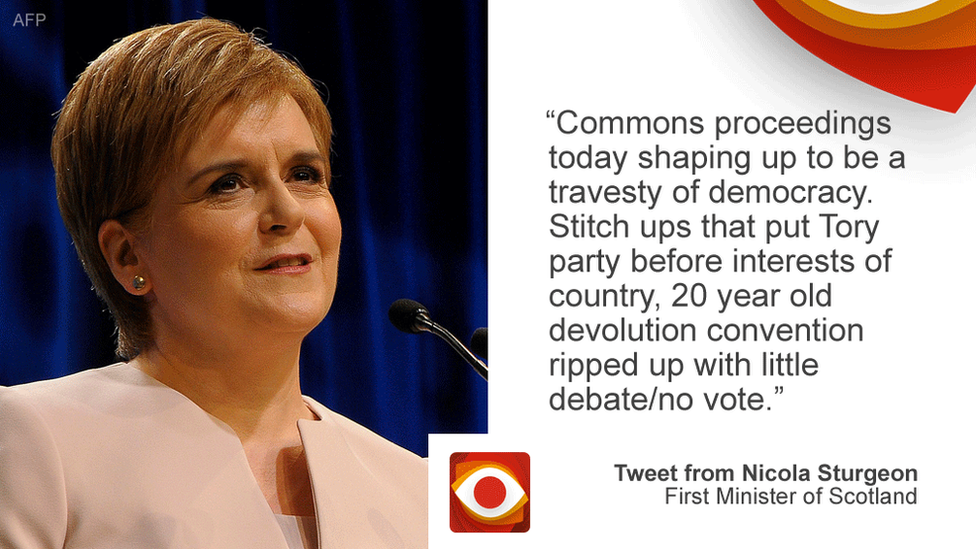 Nicola Sturgeon tweet