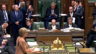 Andrea Leadsom announces motion in the Commons