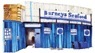 Barneys Seafood, Chamber Street, Tower Bridge