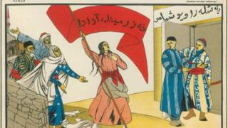 """""""Освобожденная женщина Востока"""": советский плакат 1920-х годов"""