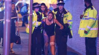Woman injured in Manchester blast