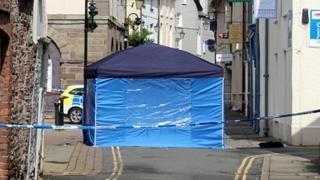 Tent in Brecon