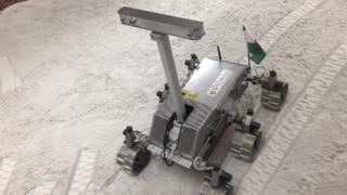 Aberystwyth University's half-sized half-size ExoMars Rover, Blodwen