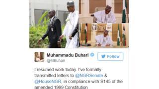 Rais Buhari aanza kazi rasmi