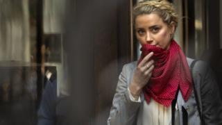 US actress Amber Heard