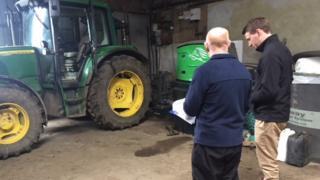 Farm inspection