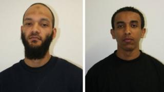 """""""terör faaliyeti suçlamaları"""" ile mahkum olan iki kişi"""