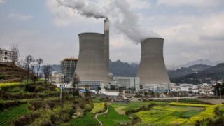 Một nhà máy nhiệt điện than ở Trung Quốc