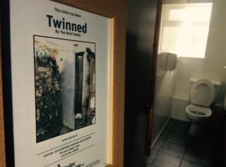 Twinned toilets certificate