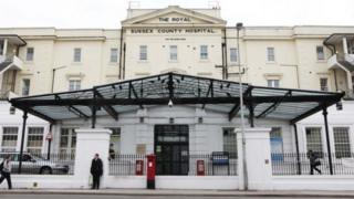 The Royal Sussex Hospital in Brighton