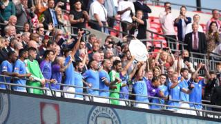 Manchester City win Community Shield after penarity