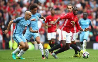 Man City v Man United