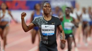 Caster Semenya i Doha