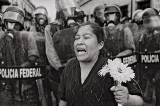 """""""Mi casa no es un burdel"""", Oaxaca de Juárez, 2006."""