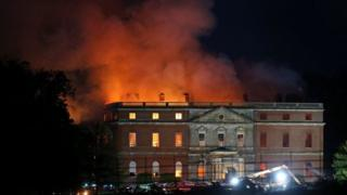 Clandon Park fire