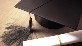 University Graduation cap
