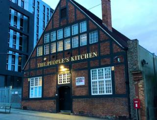 People's Kitchen building