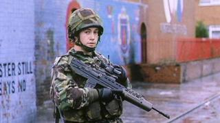 British soldier in Northern Ireland