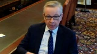 Gove claims SNP want UK to leave EU with no deal