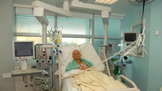 Litvinenko en el hospital